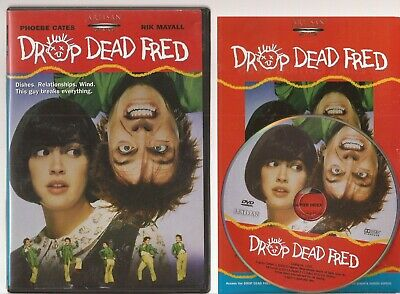 Drop Dead Fred (DVD, 2003) U.S. Issue Rare OOP Phoebe Cates Rik Mayall Free Ship