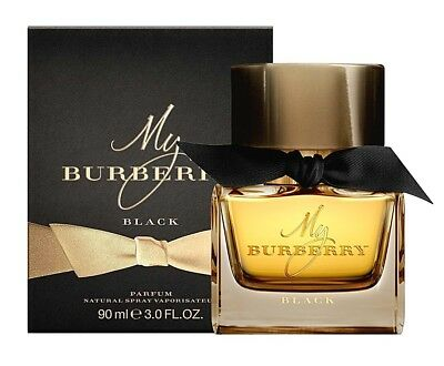MY BURBERRY BLACK EDP NATURAL SPRAY VAPORISATER 90 ml ORIGINALE Senza La Scatola