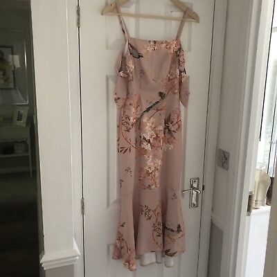 Womens Fashion Occasion Racing Wedding  Hope & Ivy Pink Dress Size 8