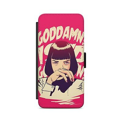 I Said Goddamn Pulp Fiction Leather Flip Wallet Phone Case Cover