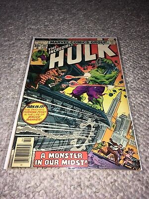 MARVEL 1976 THE INCREDIBLE HULK #208 - Very Good Condition