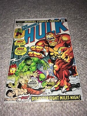MARVEL 1973 THE INCREDIBLE HULK #169 - Very Good Condition