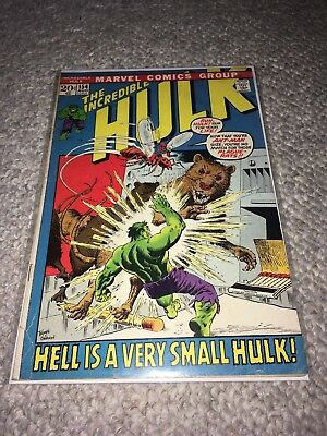 MARVEL 1972 THE INCREDIBLE HULK #154 - Very Good Condition