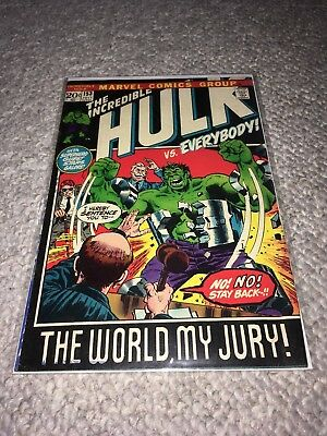 MARVEL 1972 THE INCREDIBLE HULK #153 - Very Good Condition