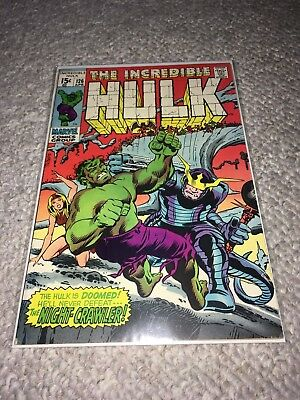 MARVEL 1970 THE INCREDIBLE HULK #126 - Very Good Condition