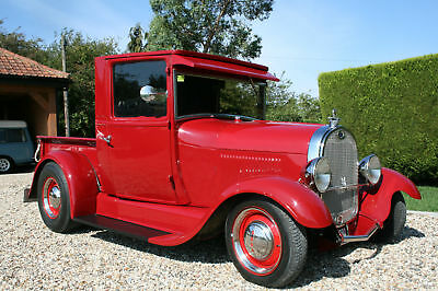 Ford Model A V8 Hot Rod Pick Up Truck. ALL STEEL .