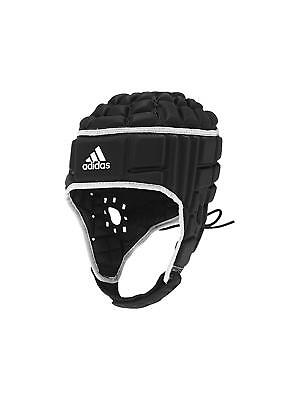 Adidas Rugby Headguard Black White IRB Head Guard Protection Gear Scrum Cap