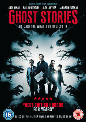 Ghost Stories DVD (2018) Alex Lawther, Nyman (DIR) cert 15 Fast and FREE P & P