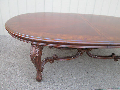 58330  American Drew Banded Mahogany Dining Table