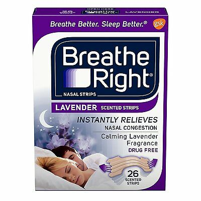 Breathe Right Lavanda 26ct