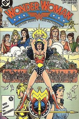 Wonder Woman #1 (1987, DC) CGC 9.8 signed by George Perez