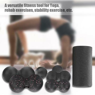 Gym Exercise Fitness Floating Point EPP Yoga Foam Roller Physio Trigger Massage~
