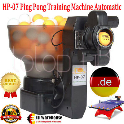 HP-07 Ping Pong Automatic Ball Machine Table Tennis Robots Ball Machine DE DHL Y