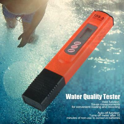 Digital LCD TDS Water Quality Tester Purity PH Meter Tester Filter Pen Sticks