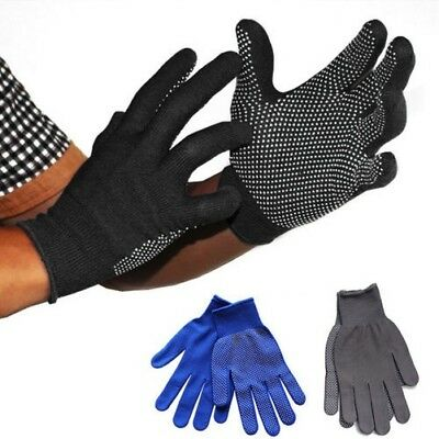 Outdoor Scalata da Trekking Anti-scivolo Forcine Guanti Dita Intere Blu/Nero /