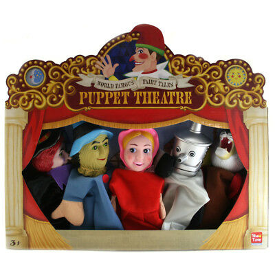 Show Time Puppet Theatre: Wizard of Oz - Set of 5 Large Hand Puppets - NEW