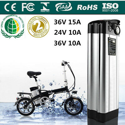 36V 24V 10A 15A Li-ion Electric E-Bike Battery Lockable Motorbike Motorcycle UK