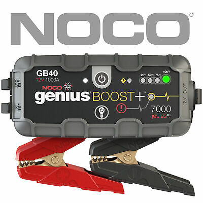 NOCO GB40 GENIUS BOOST 12V Car Ute 4WD Jump Starter Lithium-ion 1000Amp