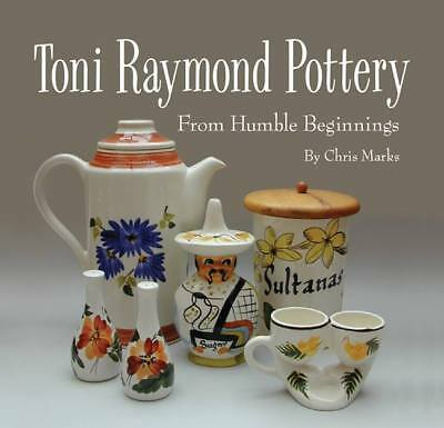 Toni Raymond Pottery Book Kitsch 1950S 1960S 1970S Vintage Retro Kitchenalia