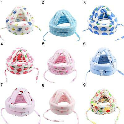 CO_ Baby Head Protective Hat Thicken Cotton Anti-Collision Infant Helmet Noted