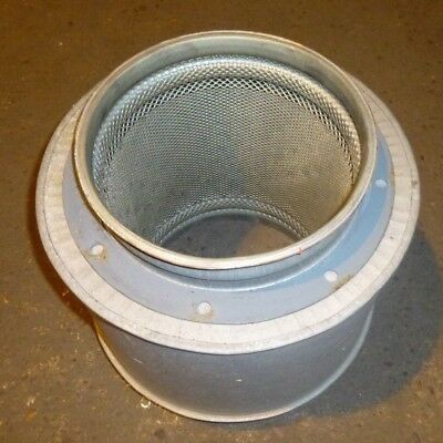 "Used Round Air Ducting Silencer ID 9""  235mm"