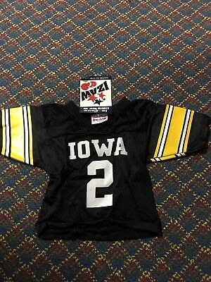 New Iowa Hawkeyes Football Jersey Youth 12 Months #2