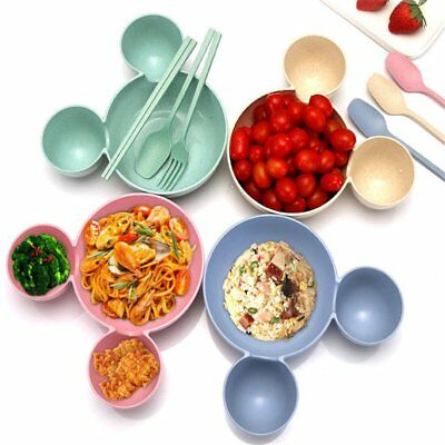 Cartoon Cute Children Kids Plastic Rice Bowl Lovely Tableware Baby Lunch BowlÇ