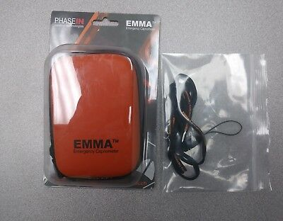 Masimo Emma Emergency Capnometer  Carrying Pouch With Laynard Etco2