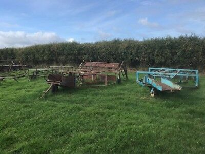 BROWNS 48 BALE Carrier, 3 Point Linkage - £460 00 | PicClick UK