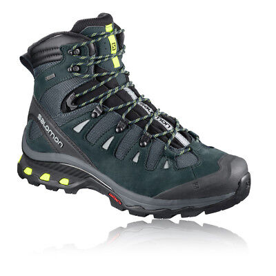 Salomon Mens Quest 4D 3 Gore-Tex Walking Boots Green Sports Outdoors Waterproof