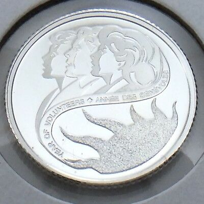 2001 Proof Canada 10 Ten Cents Silver Dime Canadian Uncirculated Coin G777