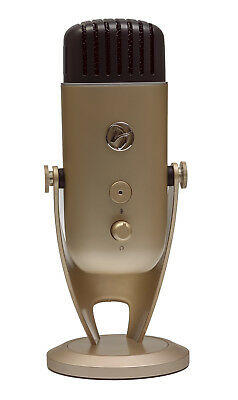 Arozzi COLONNA-GOLD Colonna Table microphone Wired Gold USB 5V 500mA - 20Hz -