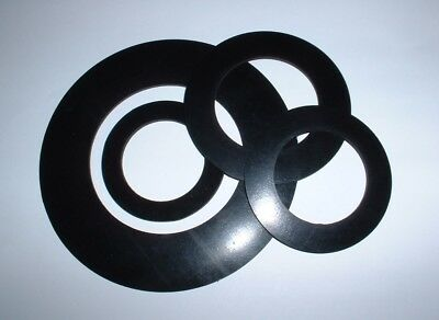 2Mm Thick 56Mm To 150Mm Od Flat Ring Epdm Circular Rubber Washer Gaskets Seals
