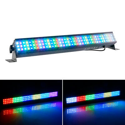108 LEDs RGB 3-in-1 Leiste Licht Bar DMX Dimmer Strobe-Effekt Farbmischung Party