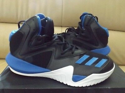 6d651c4c8 Adidas Crazy Team 2017 Men s Basketball Shoes Size 11.5 Black Blue BB8253  NEW