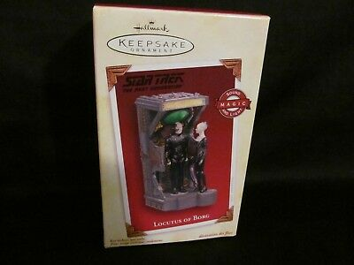 2005 Hallmark Star Trek LOCUTUS OF BORG - MAGIC Sound/Light - UNOPENED, MIB!
