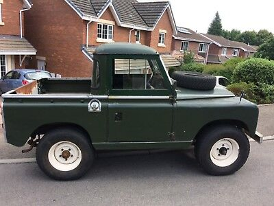 "Land Rover Series 2a 1970 Pick Up 88"" Classic Car Tax Diesel"