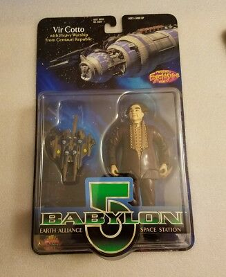 1997 Babylon 5 Vir Cotto w/Heavy Warship!  Previews Exclusive! Sealed new