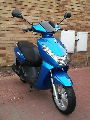 2012 Peugeot Kisbee 50, 4 Stroke * 1 OWNER * VERY LOW MILEAGE * IMMACULATE *