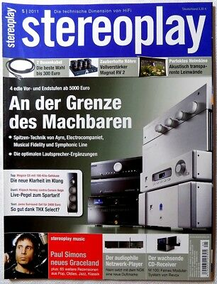 STEREOPLAY 05/2011 Mai 2011 Hifi Zeitschrift 5/11 5 2011 stereoplay 05 11