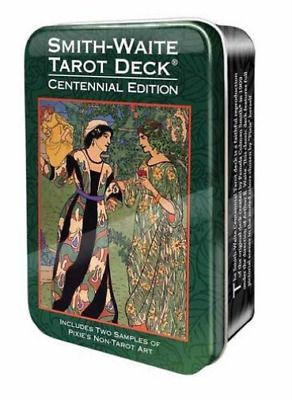 U.S. Games Systems Inc. (Cor)-Smith-Waite Tarot In A Tin ACC NEW