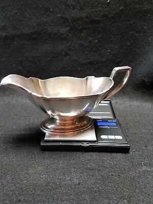 Gorham Sterling Silver Gravy Boat A 2780 Weight 194 Grams