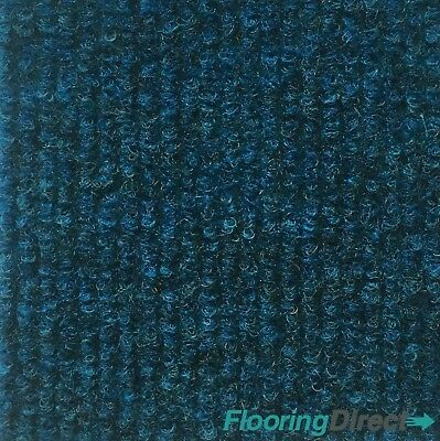 Indy Blue Office Carpet Tiles 6m2 Box - Commercial Flooring Office Cheap Price