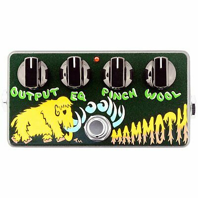 Zvex Effects Hand-Painted Woolly Mammoth Distortion Fuzz Pedal