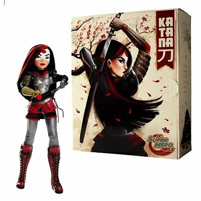 2016 SDCC Mattel Exclusive DC Super Hero Girls KATANA DOLL Suicide Squad NEW