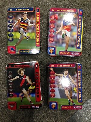 2018 Teamcoach Afl Common Cards (7 For $1.00)