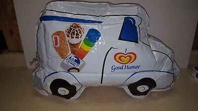 Good Humor inflating truck prmo sign