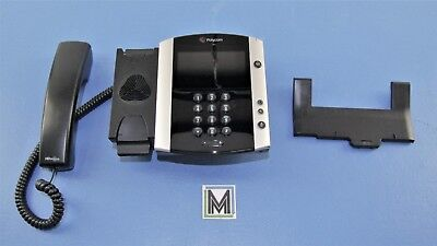 POLYCOM VVX 600 GIGABIT IP PHONE 2201-44600-001 PoE BUSINESS PHONE