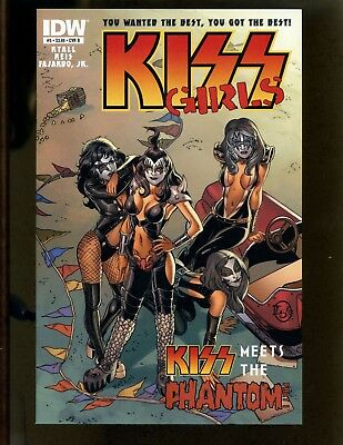 KISS #5 VF- Reis, Igle, Variant Cover, KISS meets the Phantom Part 1