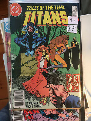 TALES OF THE TEEN TITANS #71 VF/NM 1st Print CANADIAN PRICE VARIANT Newsstand